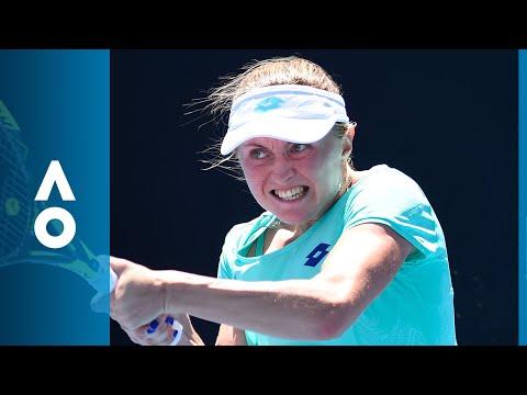 Christina McHale v Aliaksandra Sasnovich match highlights (1R) | Australian Open 2018