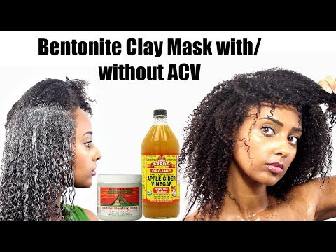Bentonite Clay Hair Mask for Curl Definition | Low Porosity Coarse Texture Type 4 Natural Hair
