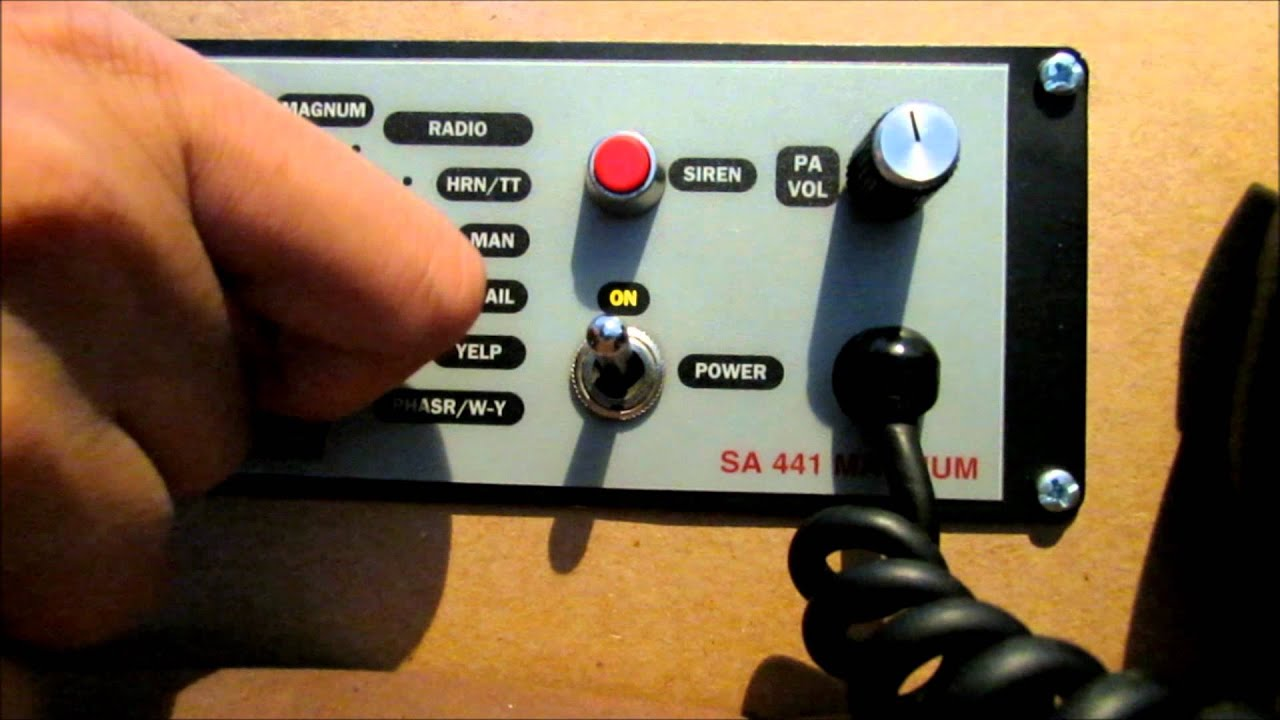 hight resolution of svp sa 441 magnum dual tone siren