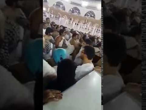 شخص يحاول إحراق الكعبة ويتم القبض عليه .. Saudi police foil terror attempt to burn Kaaba in Mecca