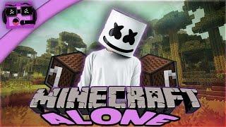Marshmello(Alone)Minecraft  Noteblock Song!