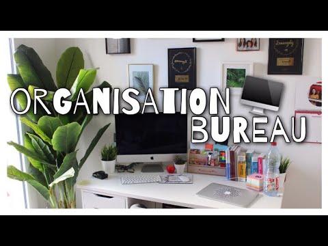 🍍 Bureau tour, organisation de mon bureau⎪#BackToSchool