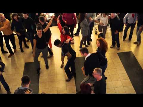 1st rueda de casino flash mob in Luxembourg, 28. 3. 2015 at 16:00