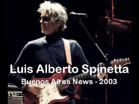 Luis Alberto Spinetta - Buenos Aires News - 06/06/2003