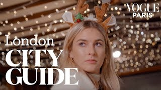 Christmas in London: Camille Charrière