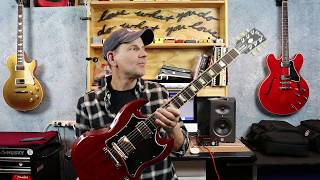 My Gibson SG Standard! Looooooove this guitar.