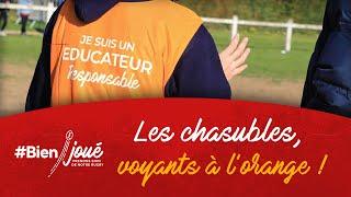 Rugby #Bienjoué : Les Chasubles, voyants à l'orange !