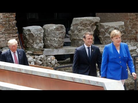 """Après un G7 agité, Angela Merkel appelle l'Europe à prendre """"son destin en main"""""""