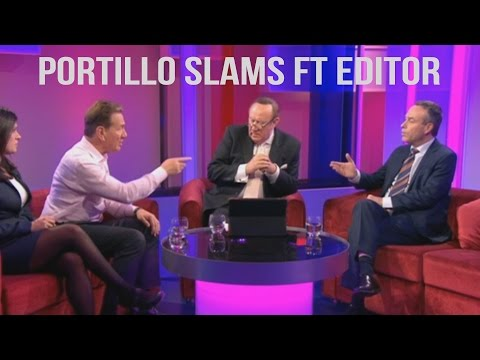 Portillo Slams FT Editor Lionel Barber - The Daily Remainer
