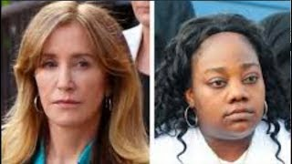 Tanya McDowell supporters DRAG Felicity Huffman & US Judicial System for BIAS Sentencing