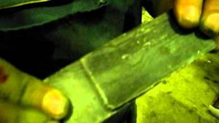 Сварка стальных пластин толщиной 3+3 мм на машине контактной точечной сварки МТР-16053(МТР-16053 компактная быстродействующая машина для интенсивной работы на различных производствах, обладающа..., 2012-09-24T13:17:17.000Z)
