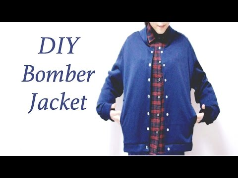 DIY Bomber Jacketㅣmadebyaya - YouTube