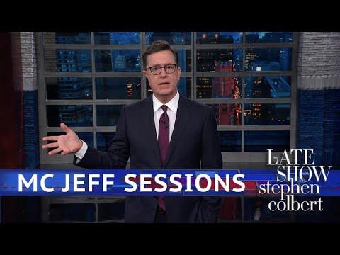 Stephen Colbert vs. Jeff Sessions Loves The Secret Wu-Tang Clan Album