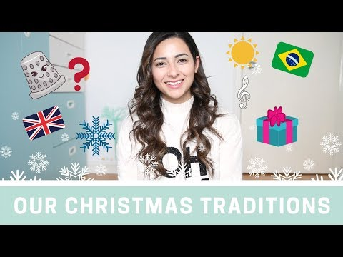 OUR CHRISTMAS TRADITIONS IN BRAZIL AND UK  The Christmas Tag  Ysis Lorenna