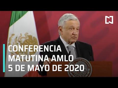 Conferencia matutina AMLO/ 5 de mayo de 2020