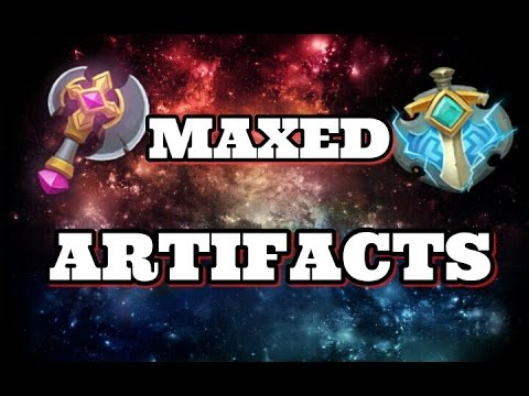 Castle Clash Maxed Artifacts! Other Youtubers?