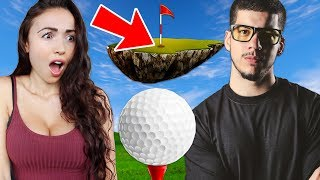 BOYFRIEND vs GIRLFRIEND!! (Golf It)