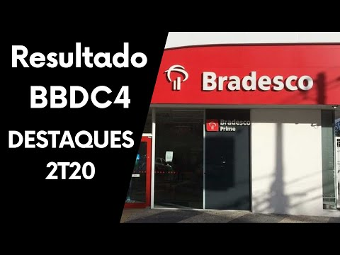 RESULTADO BRADESCO (BBDC4) 2T 2020! O BANCO mais BARATO da BOLSA!
