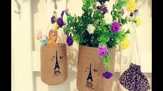 видео Кашпо своими руками для цветов и комнатных растений (макраме и другие варианты): фото