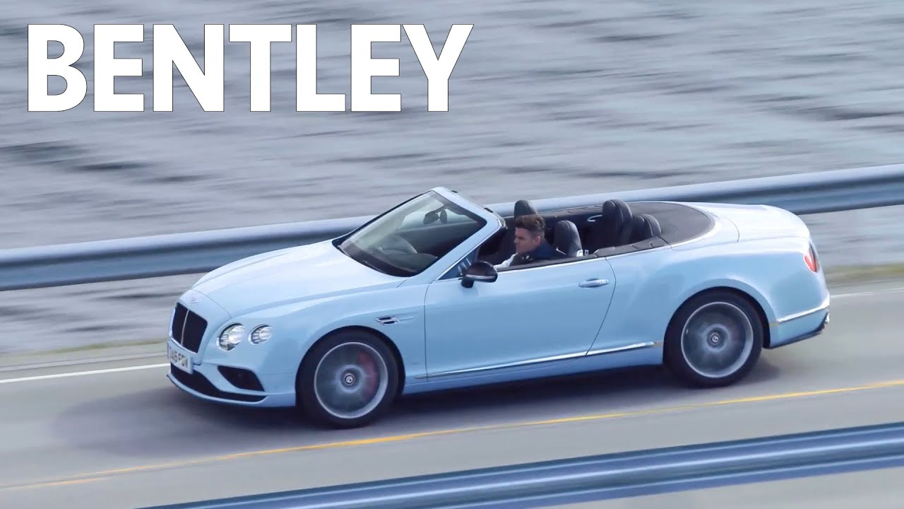 ▻ 2016 Bentley Continental GT V8 S Convertible   YouTube