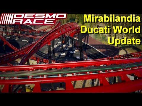 Ducati World Mirabilandia Desmo Race Baustellen Update 10.04.2019 - Neuheit 2019 Motorrad Achterbahn