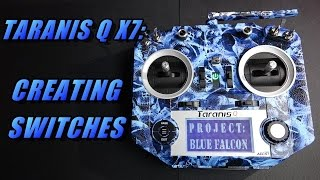 Taranis Q X7: Creating Switches (and Betaflight set up)
