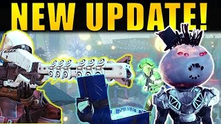 Destiny: NEW UPDATE! New Exotics, Sparrow Racing, Quests & More! | The Dawning