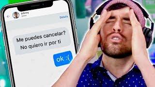 HASTA CUANDO TU UBER TE RECHAZA POR MENSAJE DE TEXTO...
