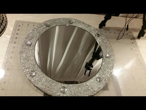 Diy / Bling Crushed Glass Mirror