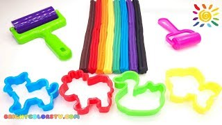 Learn Colors Animals Names and Sounds Play Doh Creative Activity Newest Videos