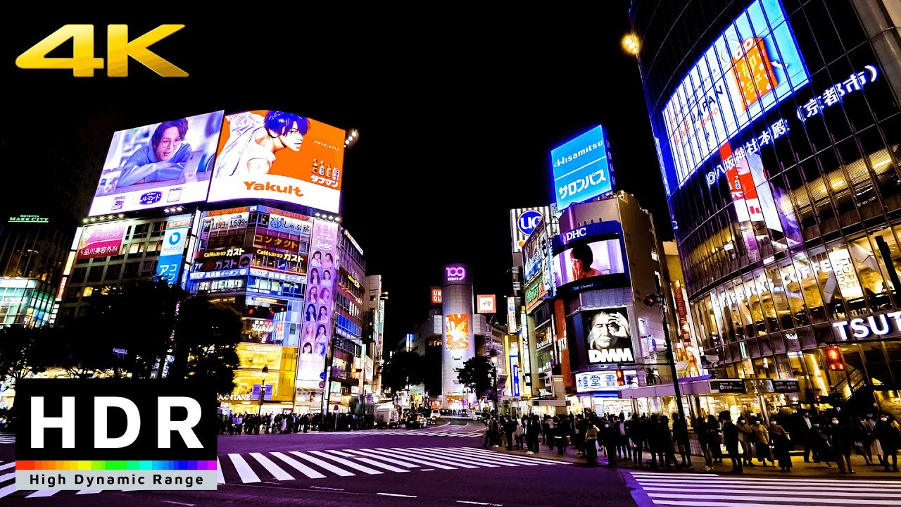 Download 【4K HDR】Night Walk in Tokyo Shibuya (東京散歩) - Fall 2020