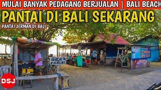 PANTAI JERMAN KUTA BALI | Situasi Bali hari ini, Sebelah Pantai kuta
