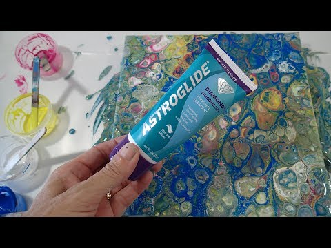 Testing Dimethicone for Acrylic Pouring Cells: AstroGlide (Part 2)