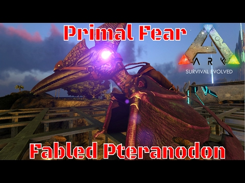 Primal Fear - Fabled Pteranodon - Anyone Caught This? : ARK