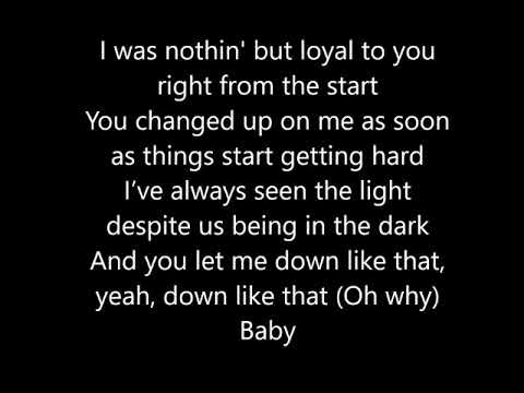 KSI feat. Rick Ross, Lil Baby & S-X – Down Like That (Lyrics)