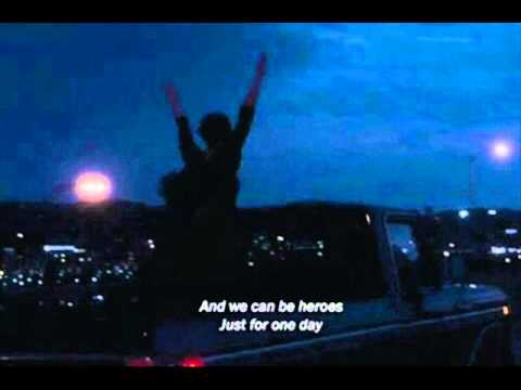 David Bowie - Heroes -The Perks of being a WallFlower ))movie soundtrack