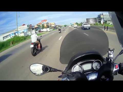 Piaggio Mp3 on Rama 2 Highway