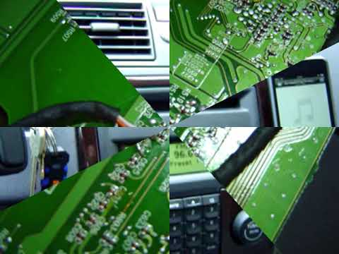 Volvo S40 IPOD Touch / MP3 per selfmade AUX Eingang - YouTube