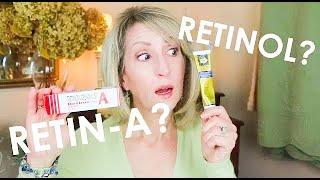 RETINOL VS. RETIN-A - MY EXPERIENCE