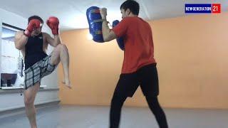 Легкий спаринг (техника нанесения ударов)