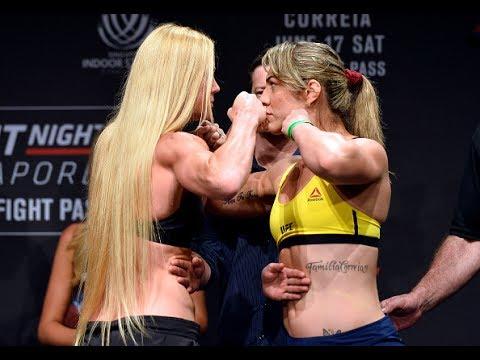 UFC Singapura: Encarada entre Holly Holm e Bethe Correia