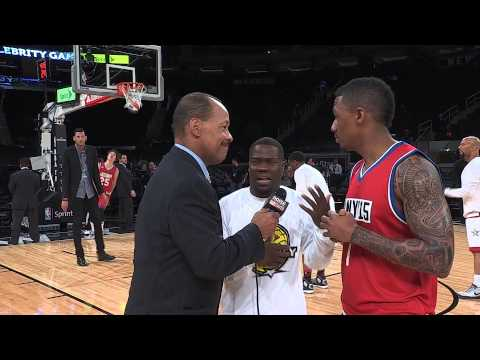 NBA ALL-STAR 2015: ANTHONY ANDERSON, KEVIN HART, NICK CANNON & SKYLAR DIGGINS
