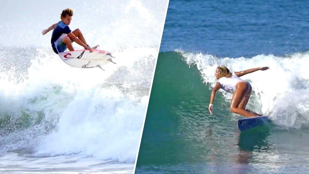 Les futures stars françaises du surf ! (feat. Hina Conradi, Kyllian Guerin & Sam Piter)