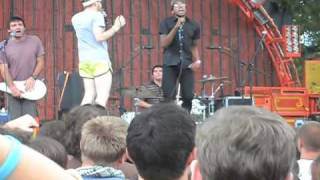 Yea Big + Kid Static w/ The Mae Shi @ Pitchfork 2009 - run to your grave + ?