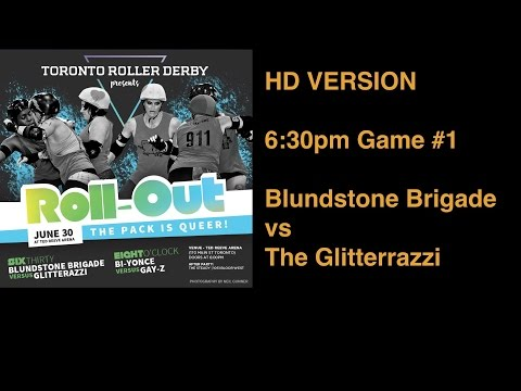 HD Version Toronto Roller Derby Presents: RollOut 2016 Game 1
