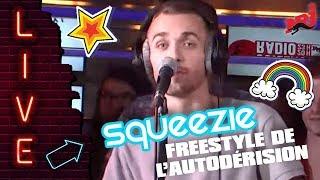Squeezie fait un freestyle chez Guillaume Radio sur NRJ !