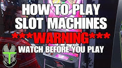 GTA ONLINE HOW TO PLAY THE SLOT MACHINES ***WARNING*** WATCH BEFORE YOU PLAY!