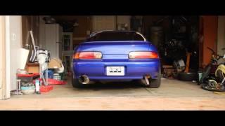 2JZ Garage Burnout   SC300 2Step