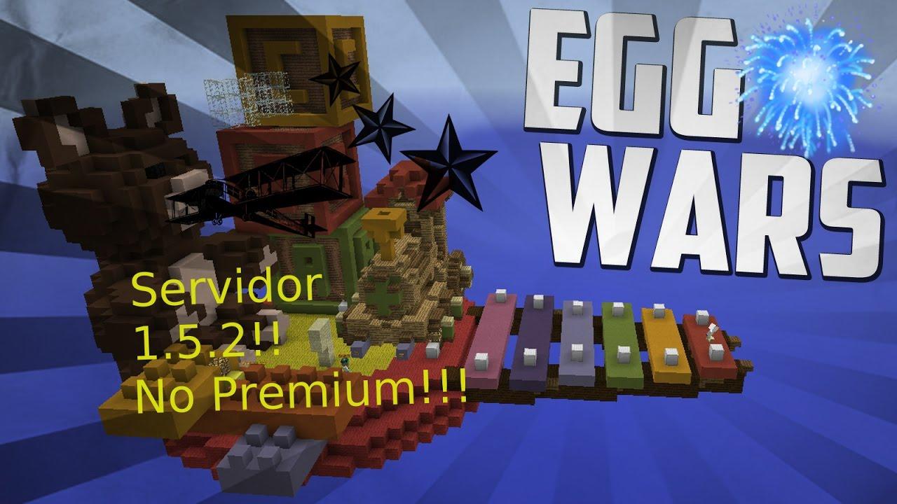 minecraft 1.5 2 servers egg wars