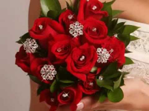 wedding-bouquets-with-jewelry-accents-from-silkflowerwedding.com